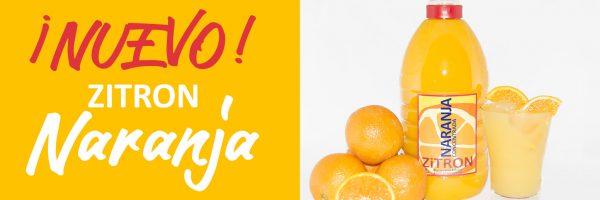 ¡¡Presentamos nuestro nuevo ZiTRON: Naranja!!