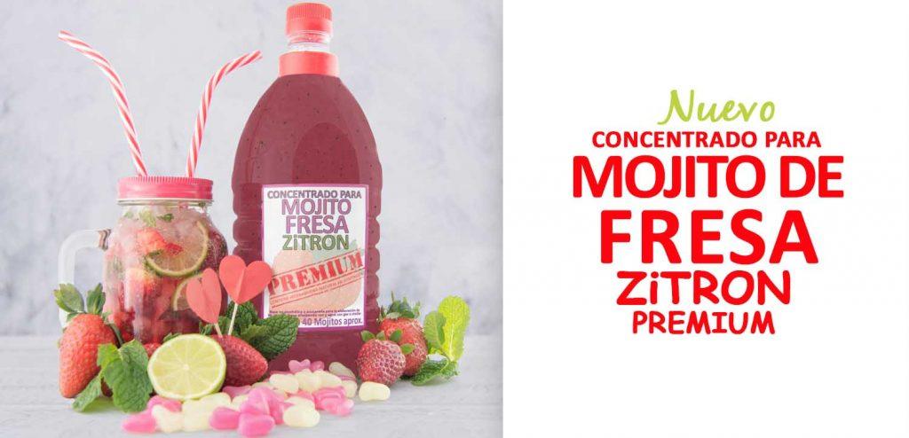 La familia ZiTRON PREMIUM sigue creciendo: ¡¡MOJITO DE FRESA!!